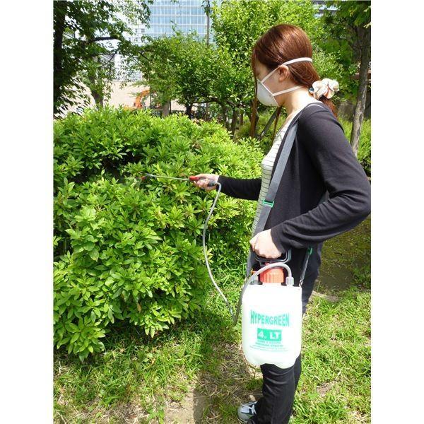 蓄圧式 噴霧器/散布機 ハイパー 4L (ガーデニング用品 園芸用品 家庭菜園 農作業 農業)|arinkurin|02