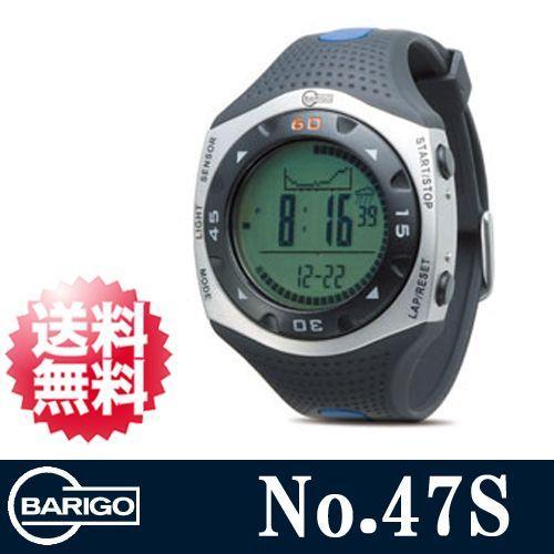 BARIGO (バリゴ) 1気圧防水 高度計 気圧計 コンパスモード搭載 多機能リストウオッチ No.47Sピークスポーツ リストオン・アルチメーター BA-47S