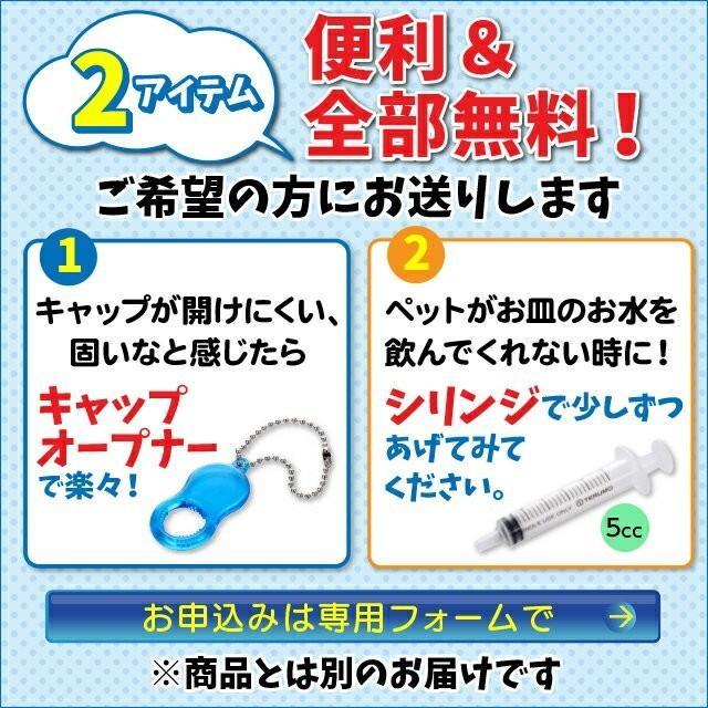 水素水 ミネラルゼロ ペット用水素水 220ml 5本  犬 猫 アルミ ボトル|arkhe|14