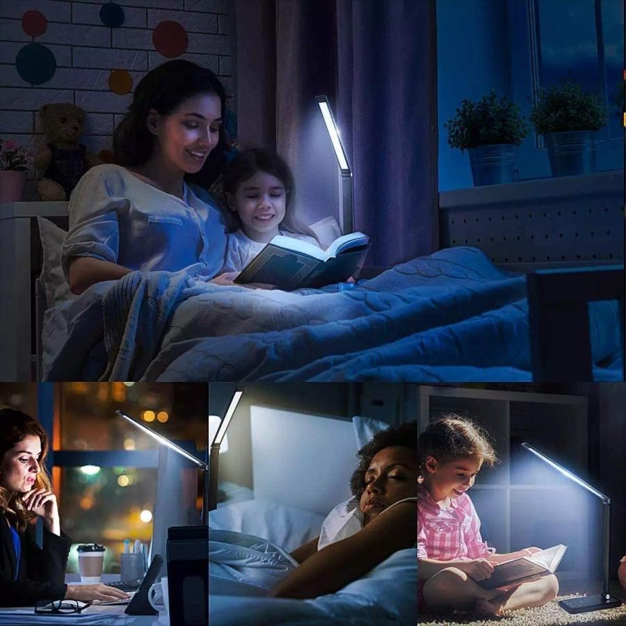 デスクライト LED おしゃれ 目に優しい 子供 学習机 勉強 スタンドライト 卓上デスクライト 明るさ調整|arlife|11
