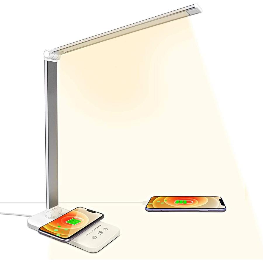デスクライト LED おしゃれ 目に優しい 子供 学習机 勉強 スタンドライト 卓上デスクライト 明るさ調整|arlife|13