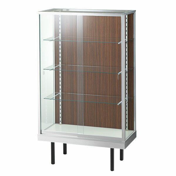 ガラスケース コレクションケース ハイケース アルミ ガラス Glass show case 幅90cm