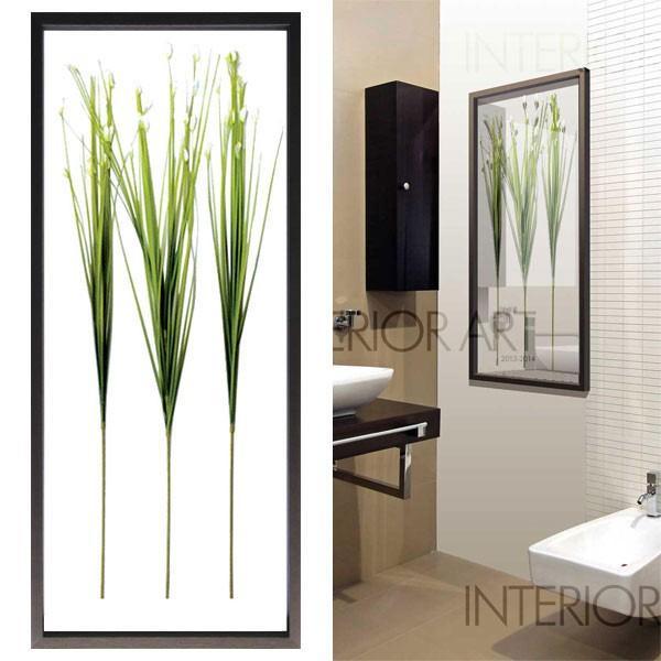 リーフパネル アートパネル リゾート風 アートパネル リゾート風 インテリアフレーム IFF50721 Flower Grass