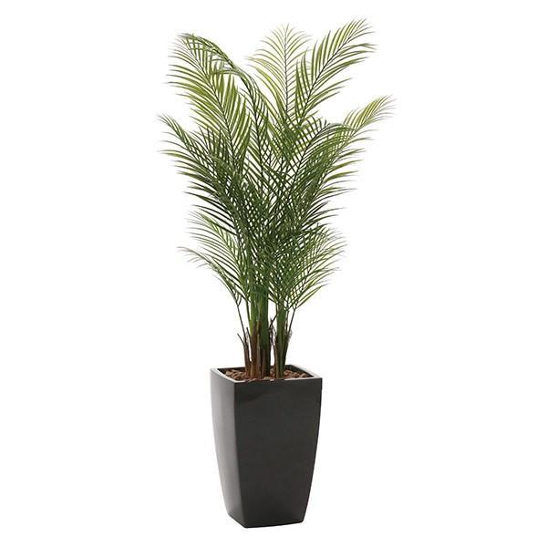 人工観葉植物 光触媒 観葉植物 フェイクグリーン インテリア 人工植物 高さ170cm アーバンアレカパーム1.7 消臭 抗菌 防汚