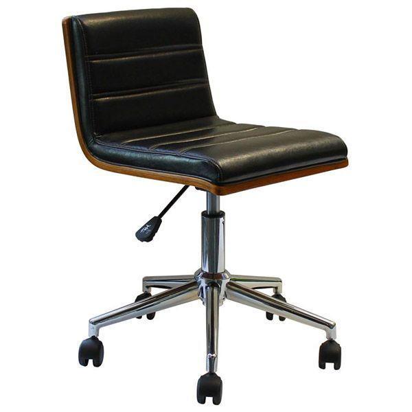 オフィスチェア パソコンチェア 革張り キャスター付き椅子 キャスター付き椅子 事務 椅子 北欧 デスクチェア おしゃれ Steed HA-011 ブラウン