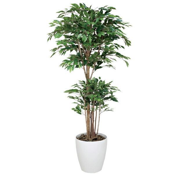 光触媒 観葉植物 人工観葉植物 インテリア トロピカルベンジャミン 高さ180cm 光触媒観葉植物 フェイクグリーン 消臭 抗菌 防汚