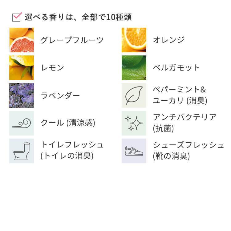 アロマスプレー 天然100%  選べるお試し3本セット(15ml×3)ネコポス送料無料 グレープフルーツ オレンジ ラベンダー aroma-spray 02