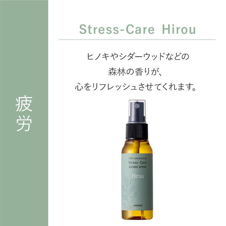ストレスケア アロマスプレー 50ml ストレスケア 幸せ 疲労 不安 イライラ 眠りリフレッシュ 空間 マスク リラックス スプレー アロマ 天然 アロマスター|aroma-spray|03