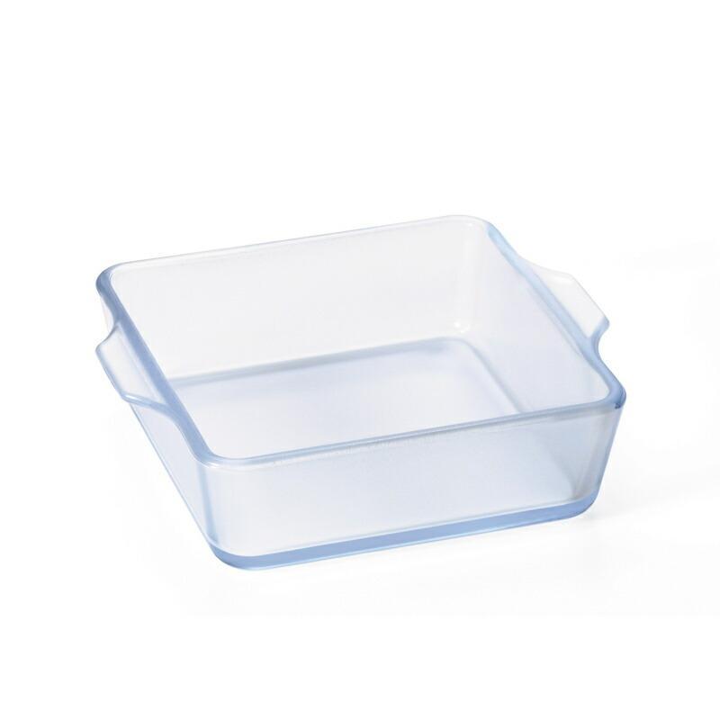 スクエアロースターS 耐熱ガラス グラタン皿 小さめ セラミックコーティング セラベイク Cera Bake 食器 400mL aromagestore 07