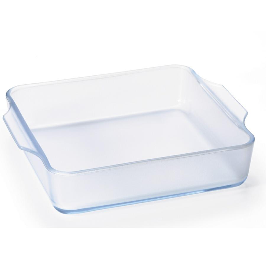 スクエアロースターM 耐熱ガラス グラタン皿 ケーキ皿 セラミックコーティング セラベイク Cera Bake 食器 1400mL|aromagestore|08