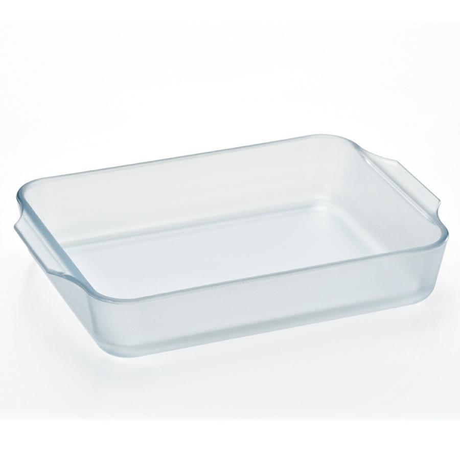 グラタン皿 大きめ セラミック コーティング レクタングルロースターM 耐熱ガラス  ケーキ皿 Cera Bake 食器 1800mL|aromagestore|08