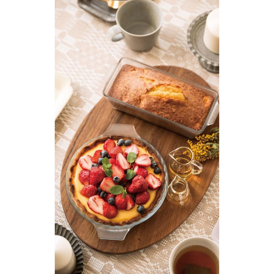 パウンドケーキ型 グラタン皿 セラミック コーティング 耐熱ガラス ケーキ皿 Cera Bake 製菓 食器 800mL aromagestore 05