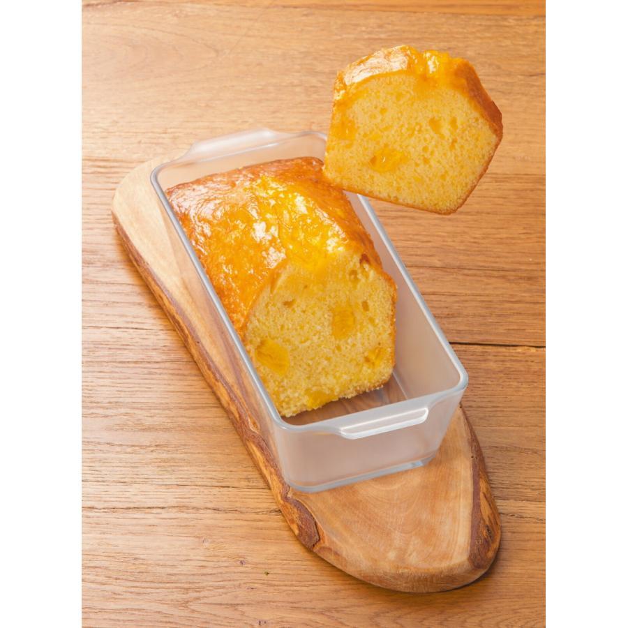 パウンドケーキ型 グラタン皿 セラミック コーティング 耐熱ガラス ケーキ皿 Cera Bake 製菓 食器 800mL aromagestore 07