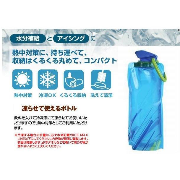 コンパクトボトル 水筒 ウォーターボトル 700ml 大人気 超軽量 信憑 コンパクト 持ち運び くるくる 折り畳み