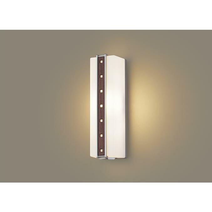 パナソニック LEDセンサ付ポーチライト 40形電球色 LGWC81411LE1