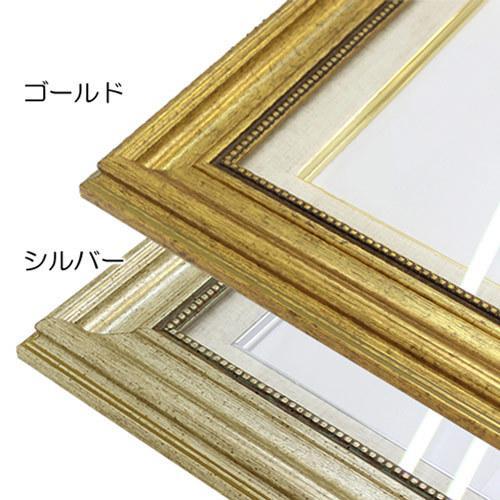 額縁 油彩額縁 8111 F10 号(530×455) (アクリル仕様・木製・油絵用額縁・キャンバス用フレーム) art-maruni 03