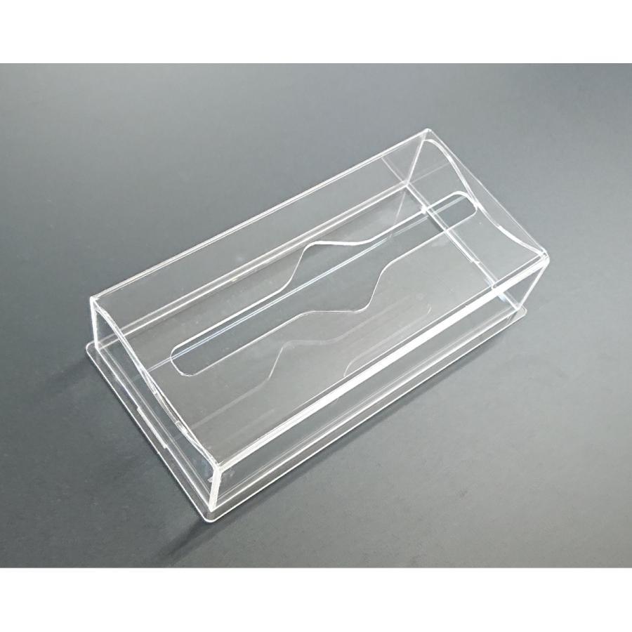 アクリル製 ペーパー タオル ホルダー BOX 透明 シンプル おしゃれ トイレ キッチン 洗面 台所 収納 衛生 art-ya 06