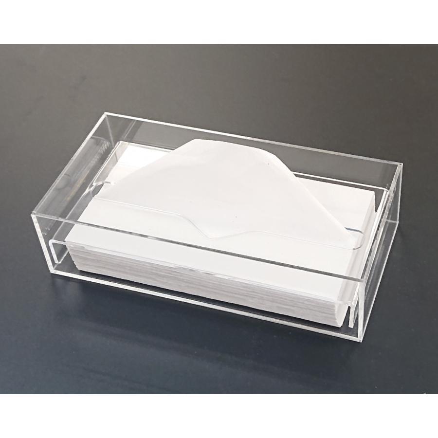 アクリル製 ペーパー タオル ホルダー BOX 透明 シンプル おしゃれ トイレ キッチン 洗面 台所 収納 衛生|art-ya