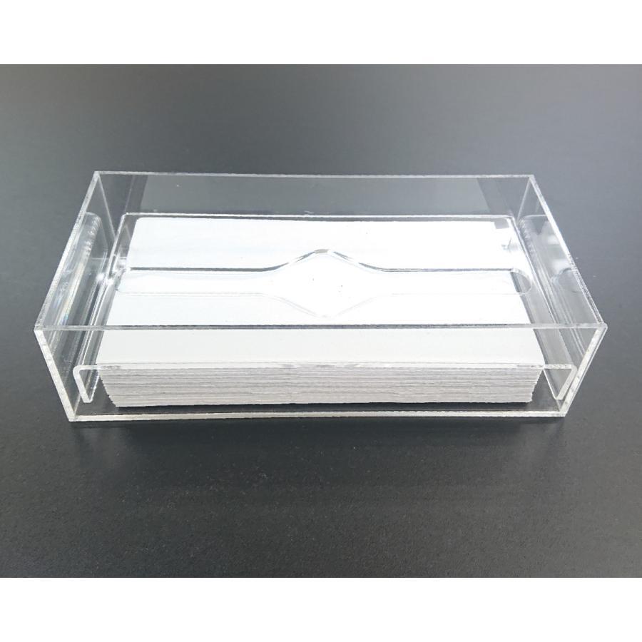 アクリル製 ペーパー タオル ホルダー BOX 透明 シンプル おしゃれ トイレ キッチン 洗面 台所 収納 衛生|art-ya|04