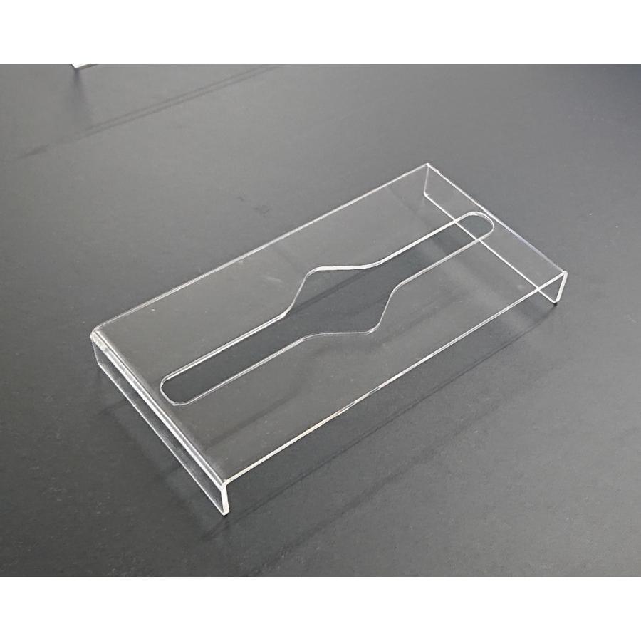 アクリル製 ペーパー タオル ホルダー BOX 透明 シンプル おしゃれ トイレ キッチン 洗面 台所 収納 衛生|art-ya|06