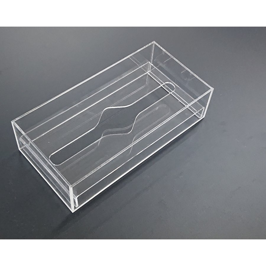 アクリル製 ペーパー タオル ホルダー BOX 透明 シンプル おしゃれ トイレ キッチン 洗面 台所 収納 衛生|art-ya|07