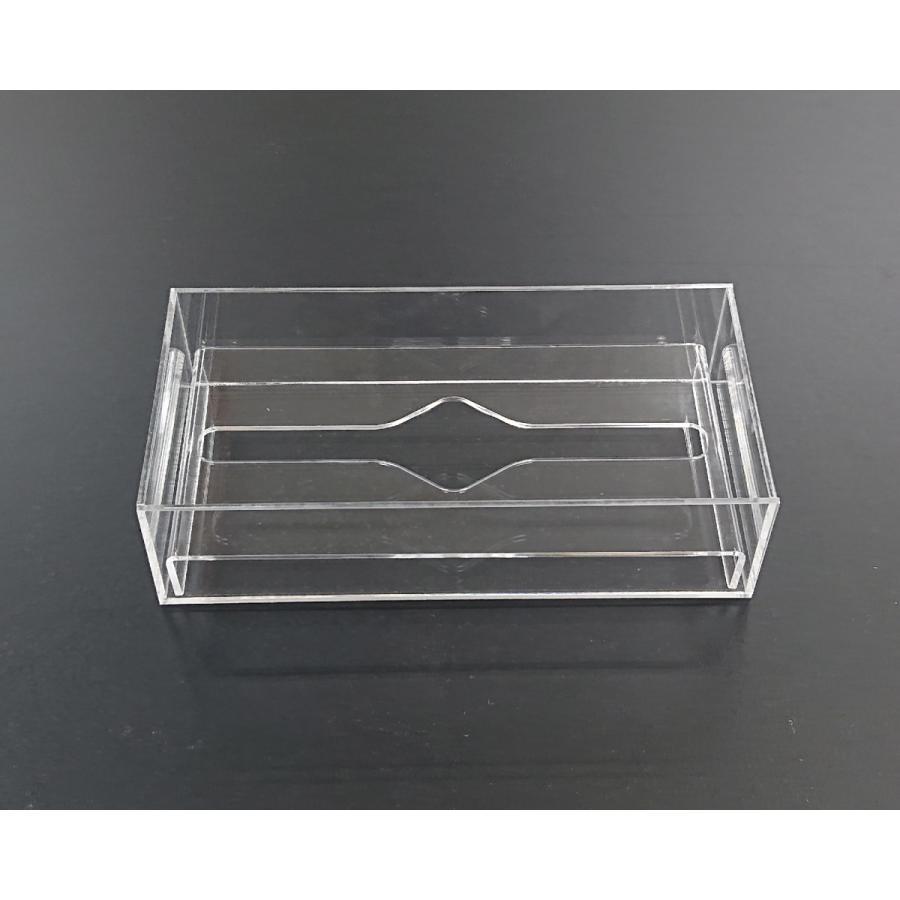 アクリル製 ペーパー タオル ホルダー BOX 透明 シンプル おしゃれ トイレ キッチン 洗面 台所 収納 衛生|art-ya|08