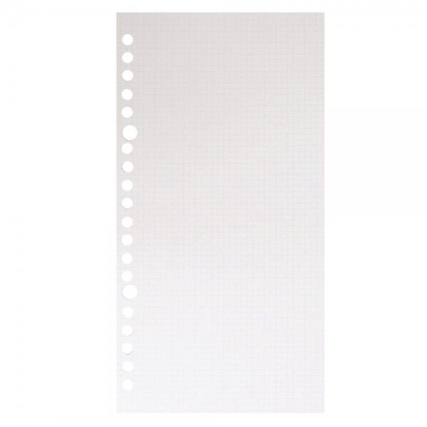 ルーズリーフ puo ピュオ スリムA5 3mm方眼罫 50枚入り L270 マルマン (DM便 ネコポス2点まで)|artandpaperm|02