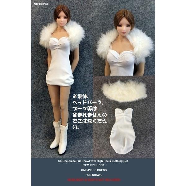 ドールズフィギュア cc273 1/6フィギュア用衣装 女性用パーティードレスセット (DOLLSFIGURE cc273) artcreator-bm-2