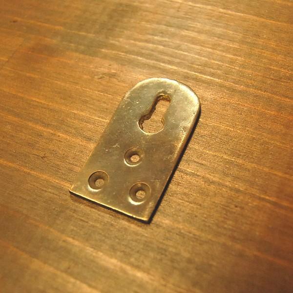 ブラスパーツ404 真鍮吊金具 インドネシア直輸入 インテリアパーツ 古色仕上げ アンティーク仕上げ 修理部品 金具|artcrew|02