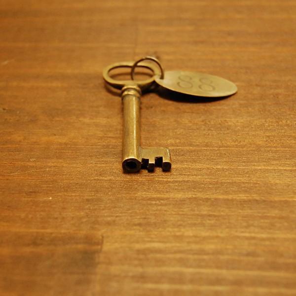ブラス鍵539 真鍮金具 家具部品 鍵部品 アンティーク仕上げ DIY 日曜大工 引き出し部品 インドネシア直輸入 インテリアパーツ 古色仕上げ artcrew 03