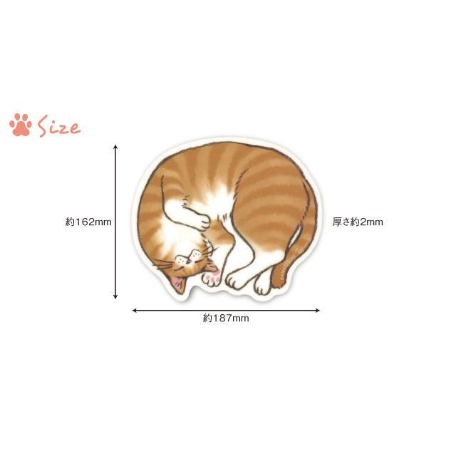 かまって寝 マウスパッド M 猫 雑貨 おしゃれ かわいい 猫好き おすすめ おもしろ イラスト グッズ ねこ ごめん寝 ポーズ プレゼント 雑貨メーカー 直営店舗 Kn Mop 雑貨メーカー直営店舗アーティミス 通販 Yahoo ショッピング