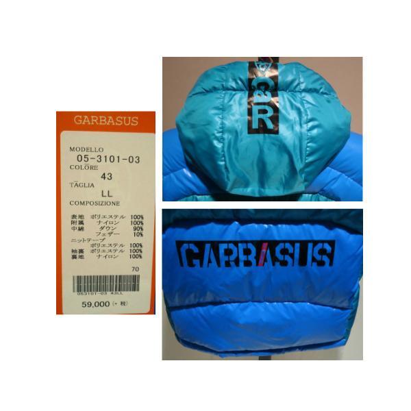 GARBASUS /秋冬/21新/30%OFF/フード ダウンブルゾン/LL・L・M サイズ/ブルー/大きいサイズ/ダウン90%/フード取り外し不可 artigiano-uomo 05
