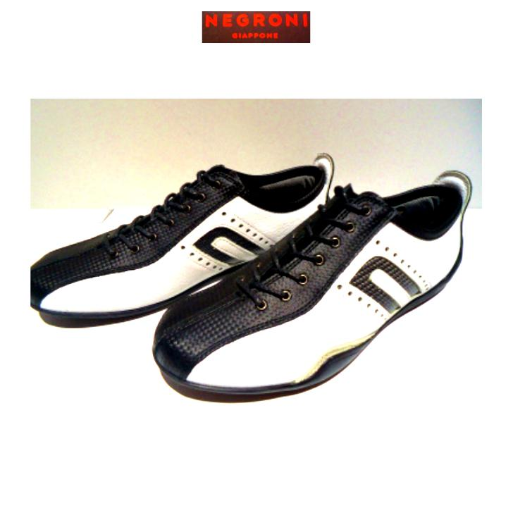 negroni <IDEA-CORSA>カーボン&レザードライビングシューズ/ホワイト/24.0cm〜27.0cm/日本製/3Eサイズ/Order Model/人気NO.1|artigiano-uomo
