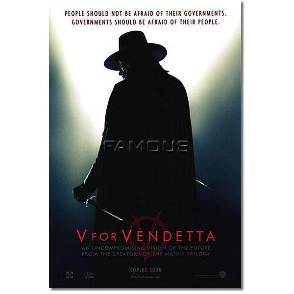 映画ポスター Vフォーヴェンデッタ ナタリーポートマン グッズ /re-called ADV-DS