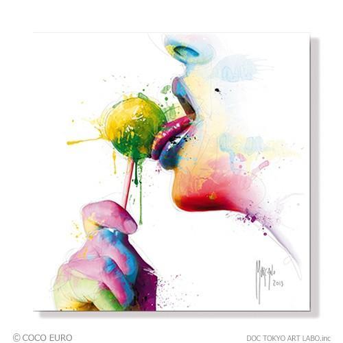 PLEXIGLAS Chupa SIZE 890x890mm 絵画 インテリア モダン ポップアート「上位モデル 最高級マテリアル」COCOEURO