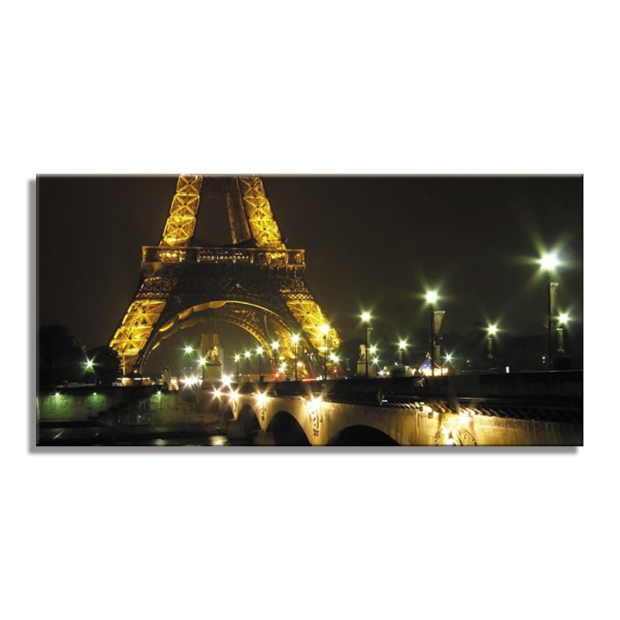 USART アートパネル EIFFEL PARIS W100cm H50cm D4cm ファブリックパネル 横長 絵 絵 エッフェル塔 おしゃれ インテリア 壁掛け 新築 壁絵 飾り 装飾 壁 軽量 軽い