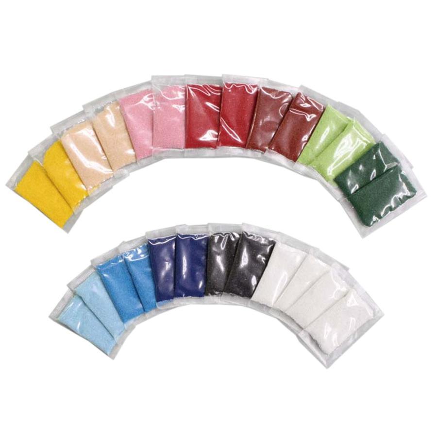 メール便可 すな絵 カラーサンド 12色セット サンドアート RN 砂絵 初売り パウダー 当店一番人気