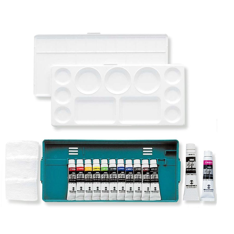 ターナー 激安卸販売新品 ポスターカラー プライムセット 13MPA 激安卸販売新品 絵画 セット えのぐ プライム 絵具