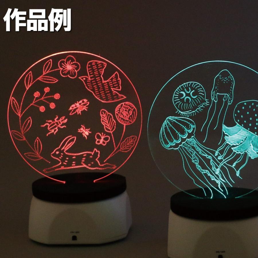 <当店オリジナル> LED集光スクラッチキット LEDライト別売 1セット 工作キット|artloco