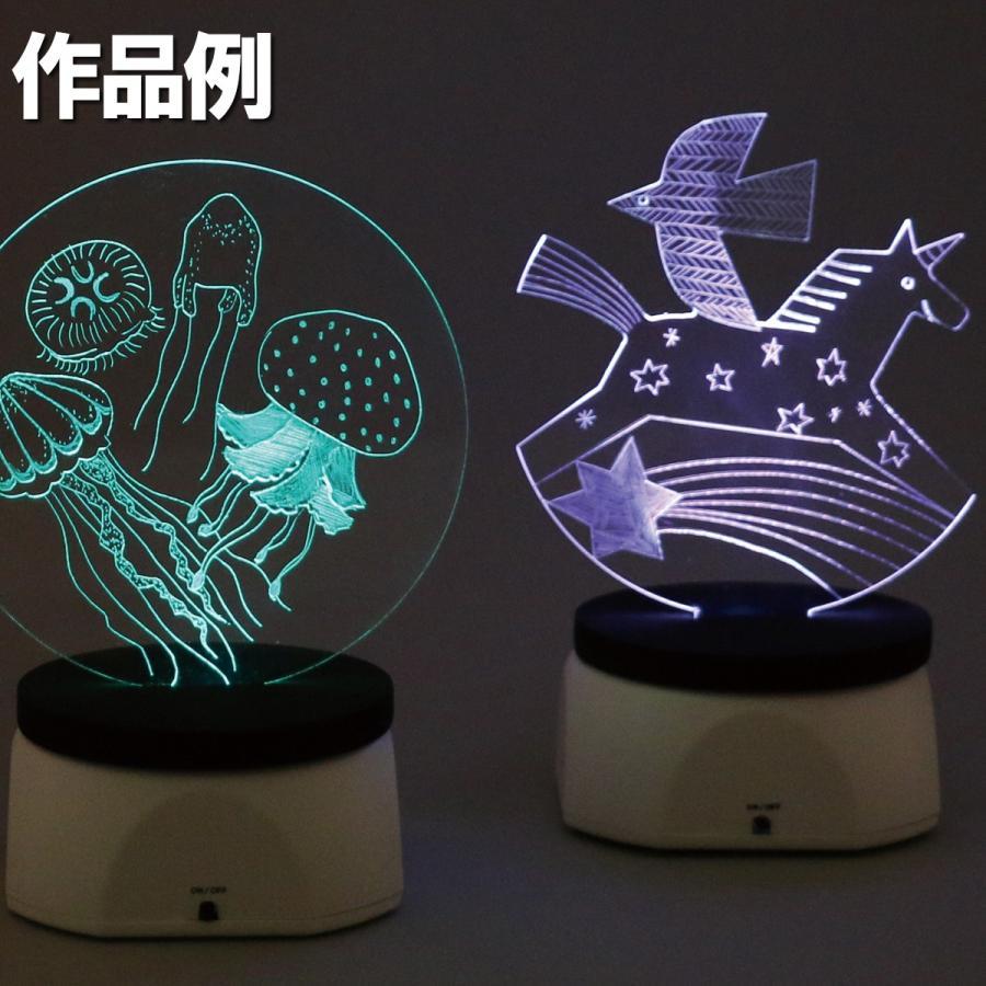 <当店オリジナル> LED集光スクラッチキット LEDライト別売 1セット 工作キット|artloco|03