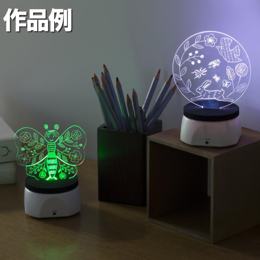 <当店オリジナル> LED集光スクラッチキット LEDライト別売 1セット 工作キット|artloco|06
