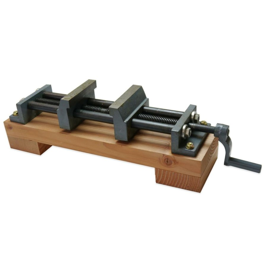500mm 両締め万力 【 木工 木彫 木工具 固定 木工バイス 万力 】 大