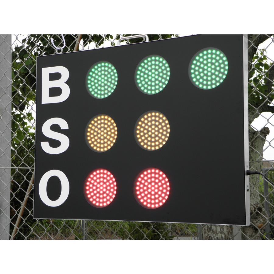 スコアボード BSO 野球カウンター 無線式カウントボード 大型タイプ MB7050|artsp|03
