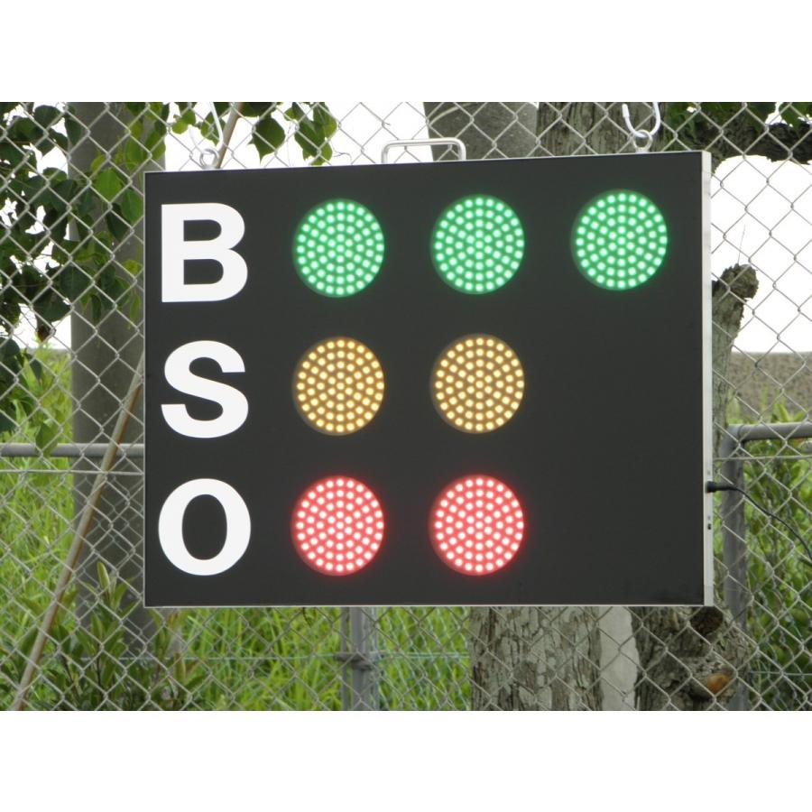 スコアボード BSO 野球カウンター 無線式カウントボード 大型タイプ MB7050|artsp|04