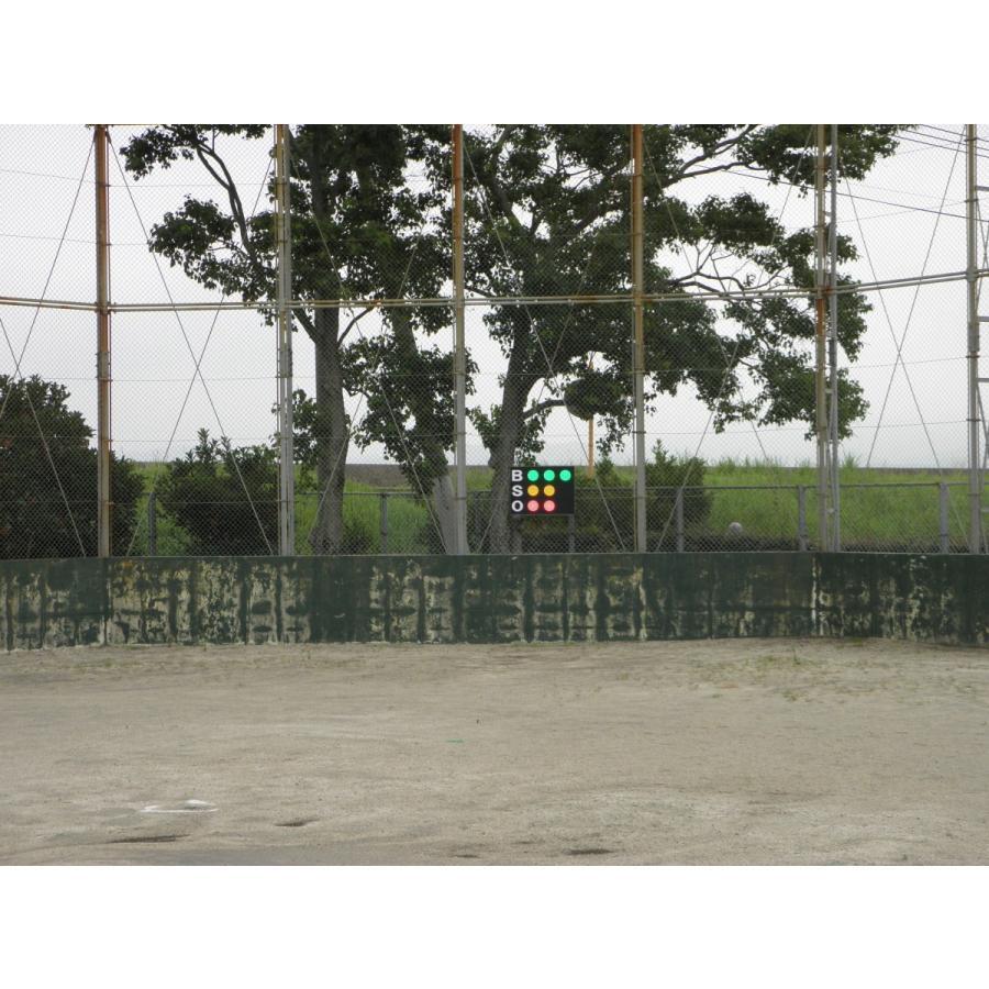 スコアボード BSO 野球カウンター 無線式カウントボード 大型タイプ MB7050|artsp|06