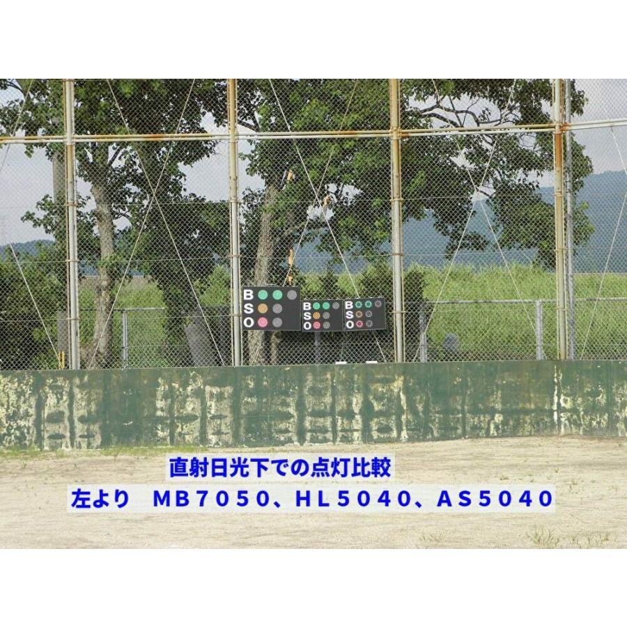 スコアボード BSO 野球カウンター 無線式カウントボード 大型タイプ MB7050|artsp|07