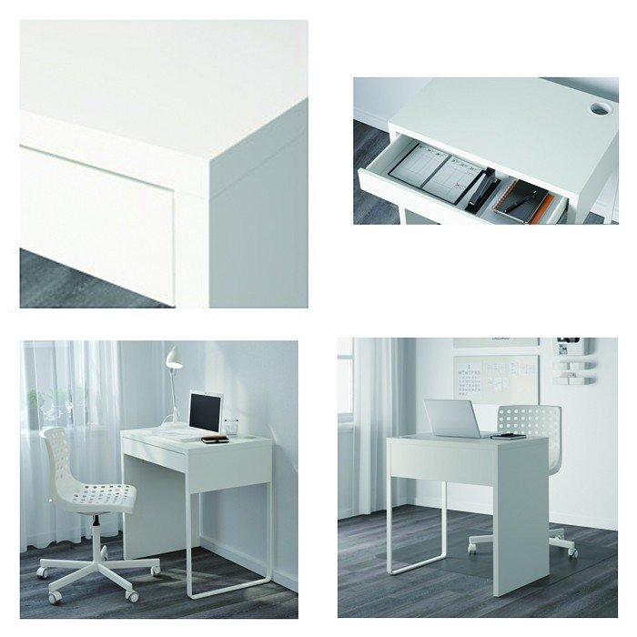 イケア/IKEA パソコンデスク 木製 机 コンパクト オフィスデスク MICKE おしゃれ|artworks|02
