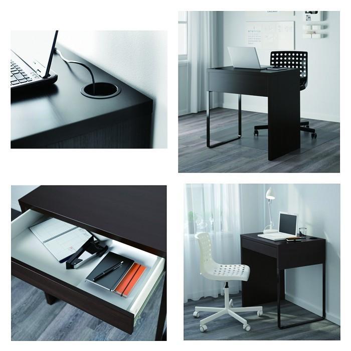 イケア/IKEA パソコンデスク 木製 机 コンパクト オフィスデスク MICKE おしゃれ|artworks|03