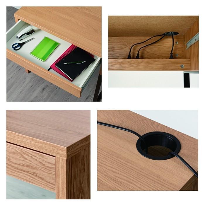 イケア/IKEA パソコンデスク 木製 机 コンパクト オフィスデスク MICKE おしゃれ|artworks|04