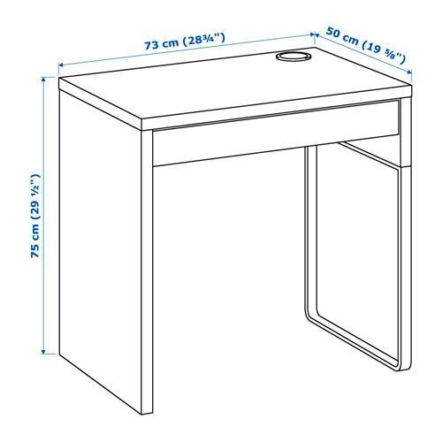 イケア/IKEA パソコンデスク 木製 机 コンパクト オフィスデスク MICKE おしゃれ|artworks|05